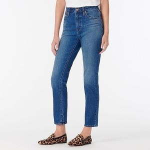 J.Crew Mercantile High Rise Crop Boyfriend Jeans